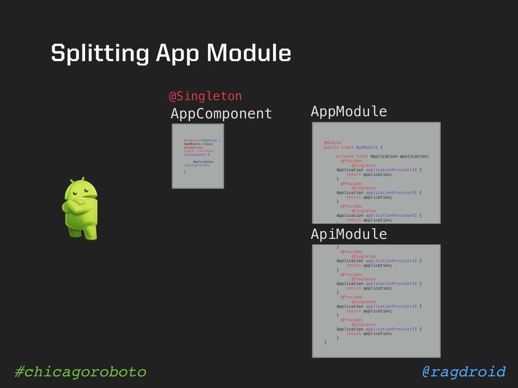 @ragdroid #chicagoroboto Splitting App Module @...