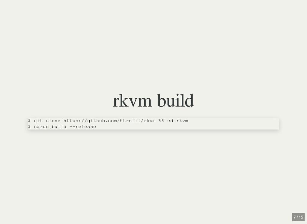 rkvm build rkvm build $ git clone https://githu...