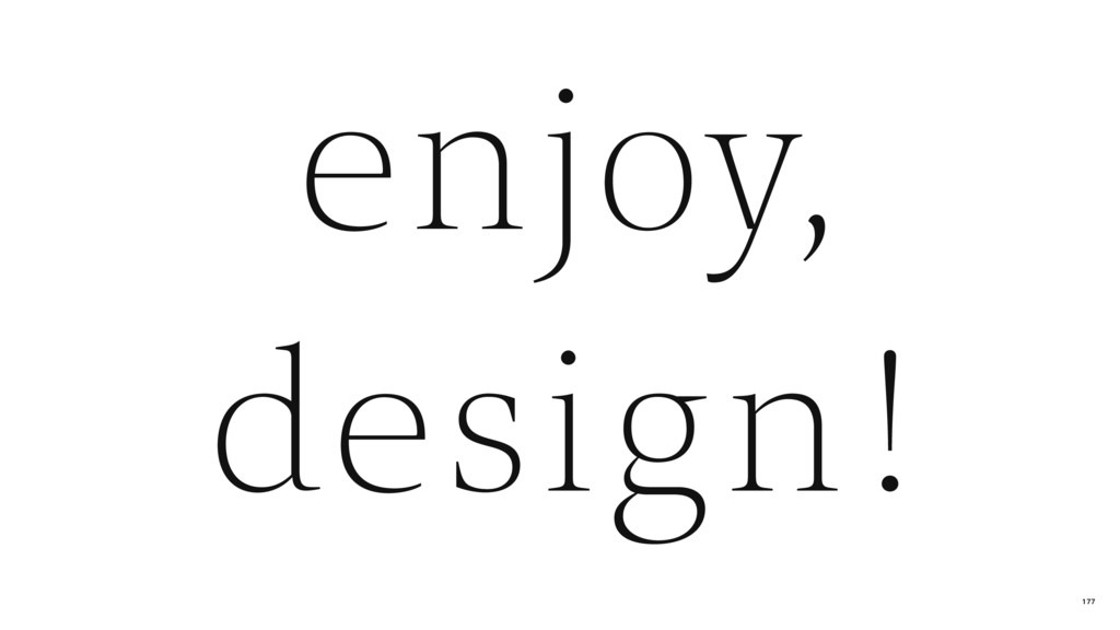 design ! enjoy, 177