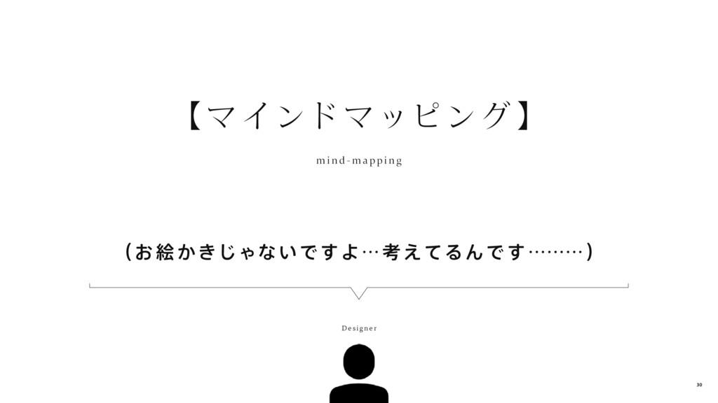 (お 絵かきじゃないですよ…考えてるんです………) 【マインドマッピング 】 m i nd -...