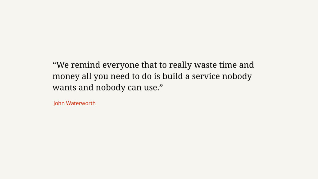 """We remind everyone that to really waste time a..."