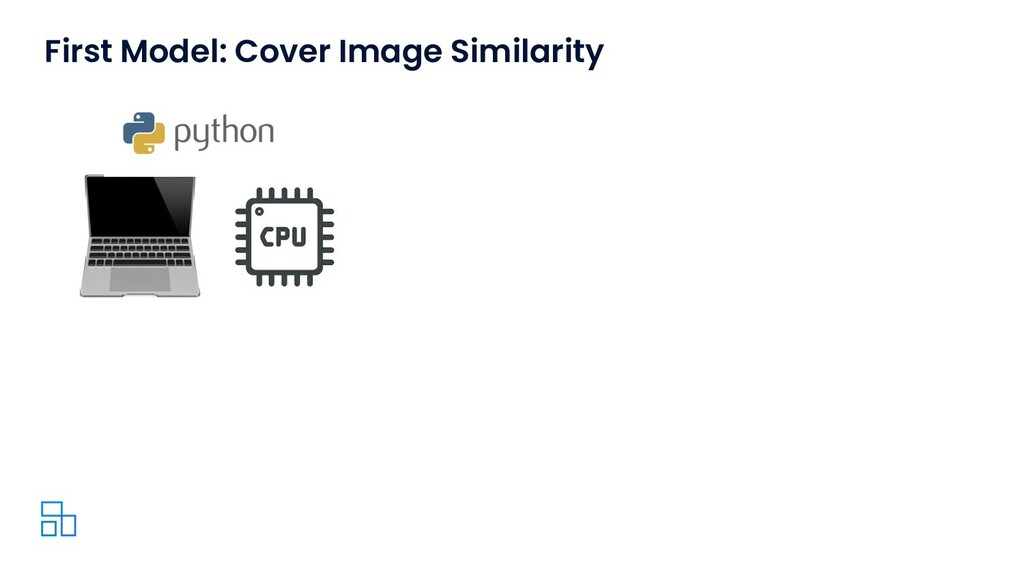 First Model: Cover Image Similarity