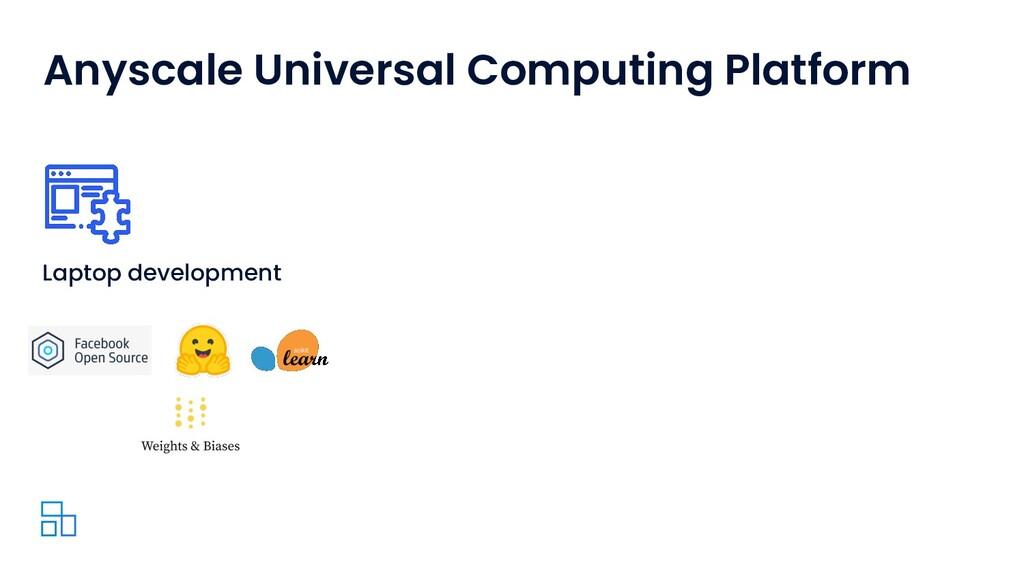 Anyscale Universal Computing Platform Laptop de...