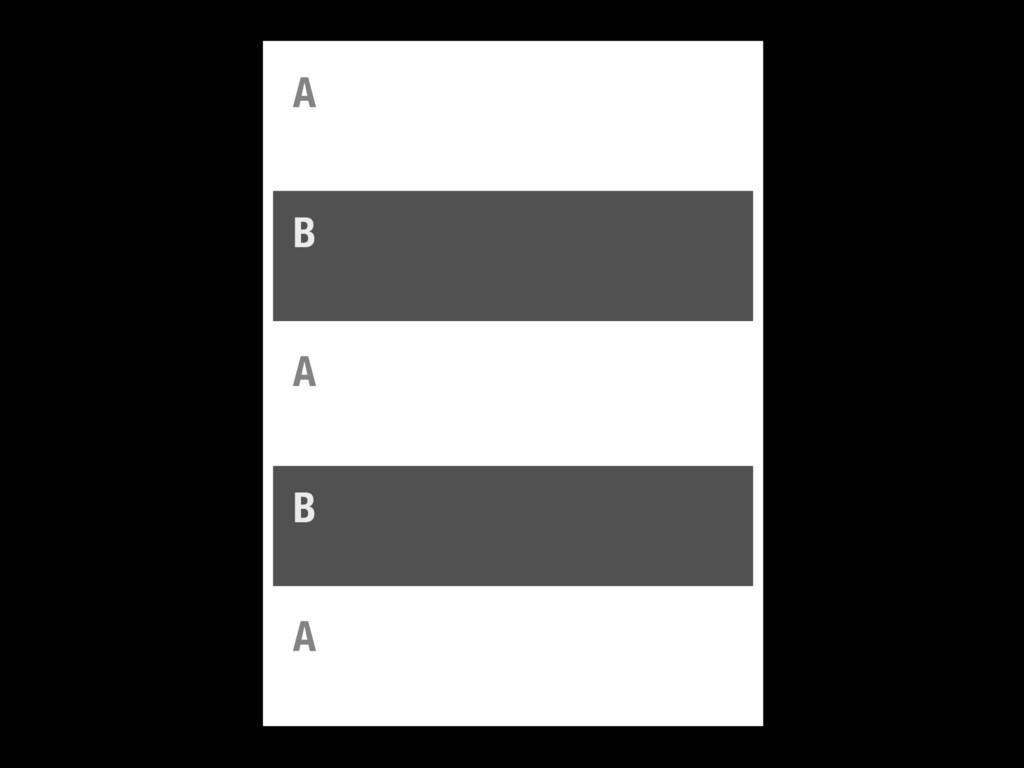 A B A B A