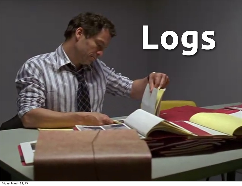 Logs Friday, March 29, 13