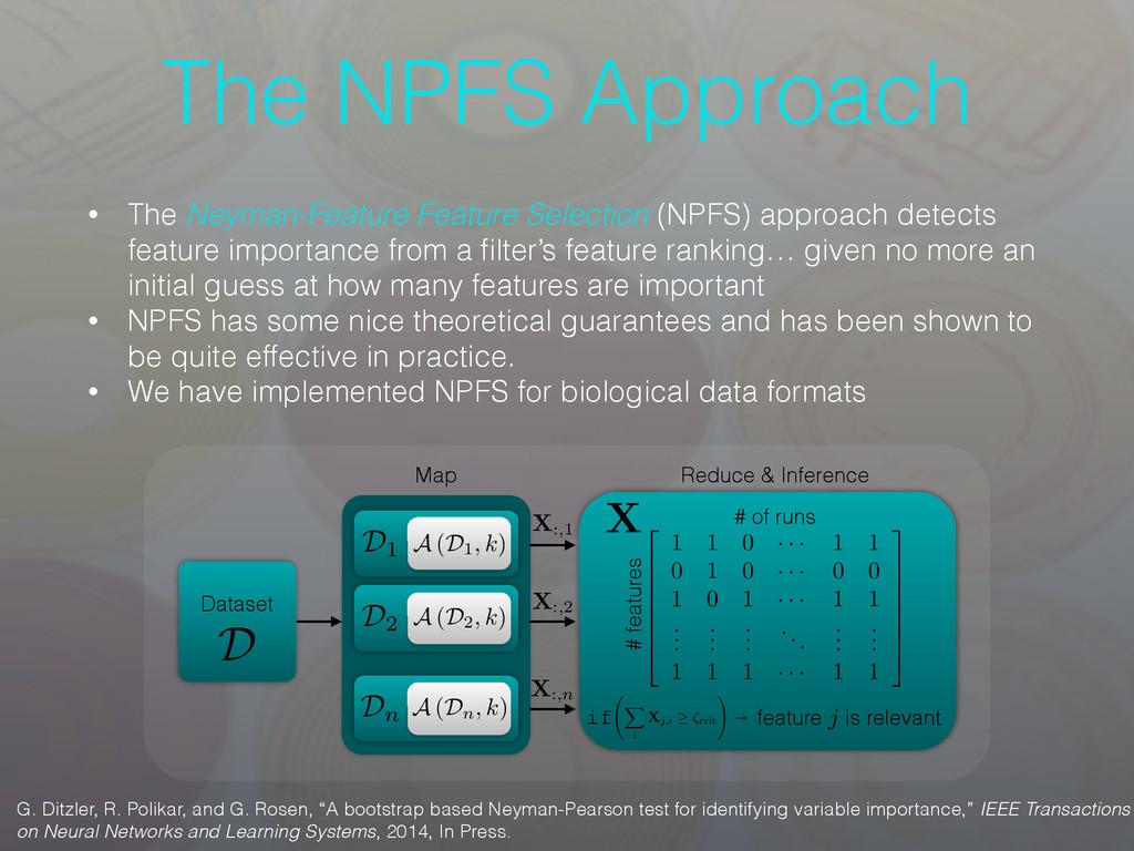 The NPFS Approach • The Neyman-Feature Feature ...