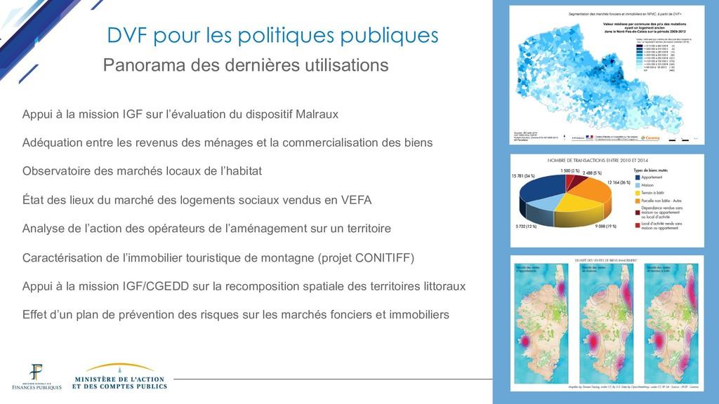 DINSIC DVF pour les politiques publiques Panora...