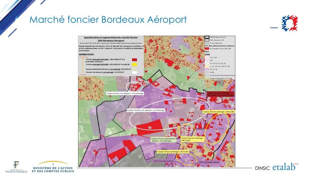 DINSIC Marché foncier Bordeaux Aéroport
