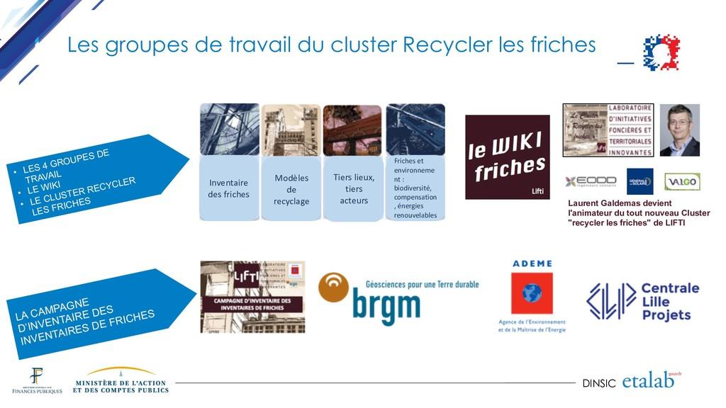 DINSIC Inventaire des friches Modèles de recycl...
