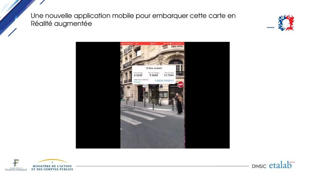 DINSIC Une nouvelle application mobile pour emb...