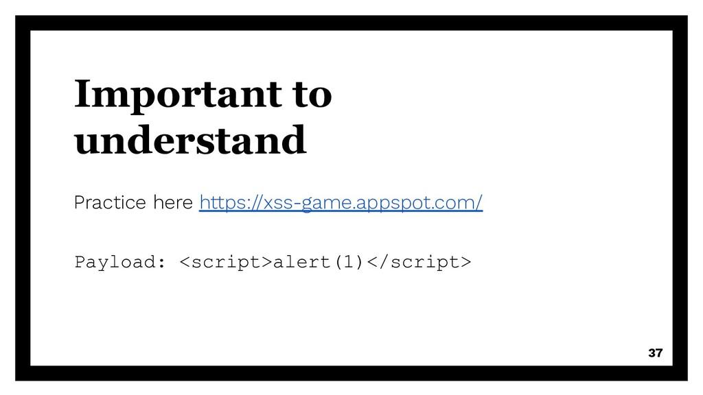 Important to understand Practice here https://x...