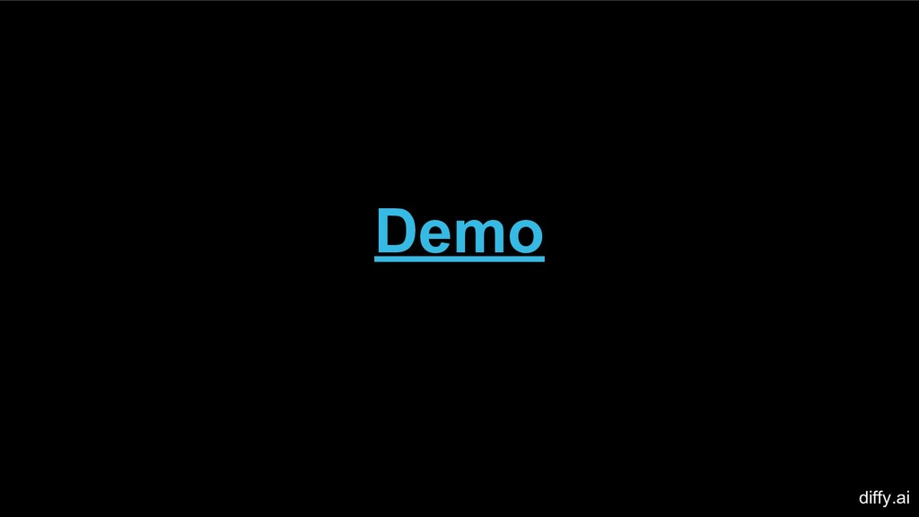 Demo diffy.ai