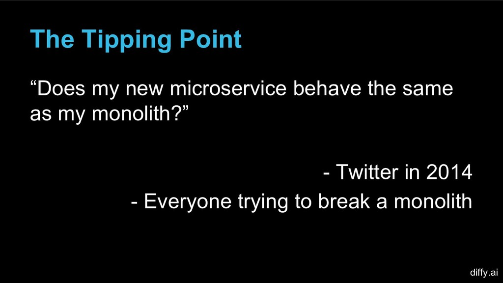 "The Tipping Point ""Does my new microservice beh..."