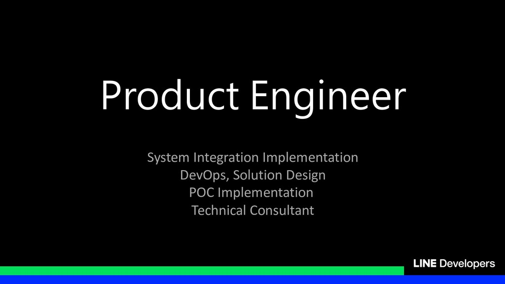 Product Engineer System Integration Implementat...