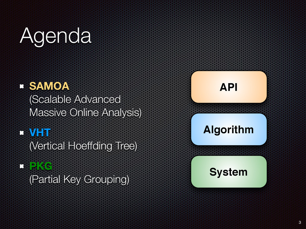Agenda SAMOA