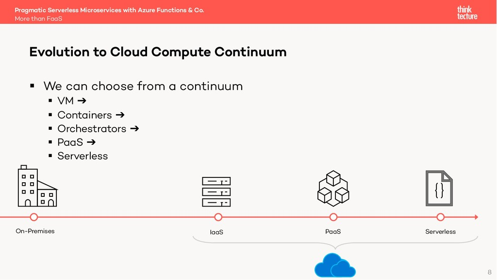 8 § We can choose from a continuum § VM ➔ § Con...