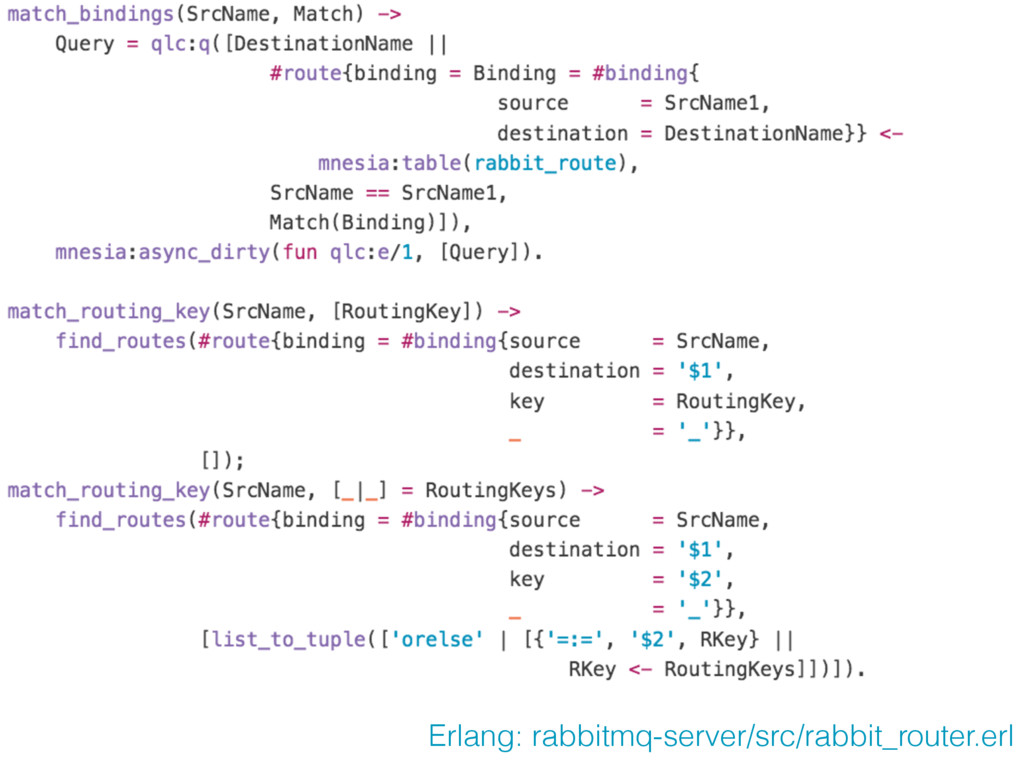 Erlang: rabbitmq-server/src/rabbit_router.erl