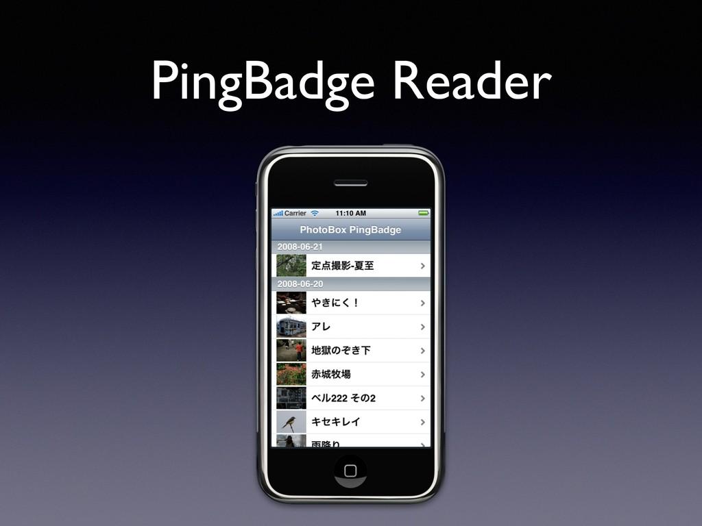 PingBadge Reader