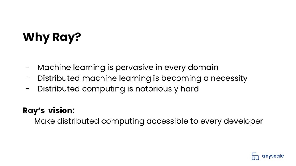 - Machine learning is pervasive in every domain...