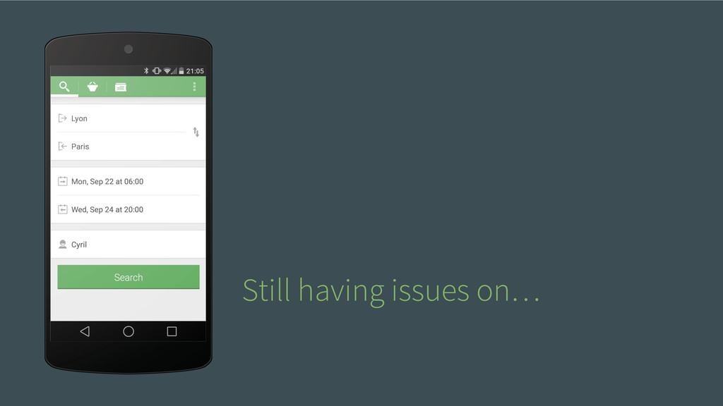 Still having issues on…
