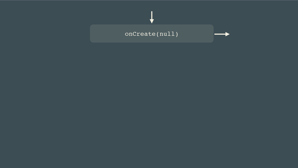 onCreate(null)