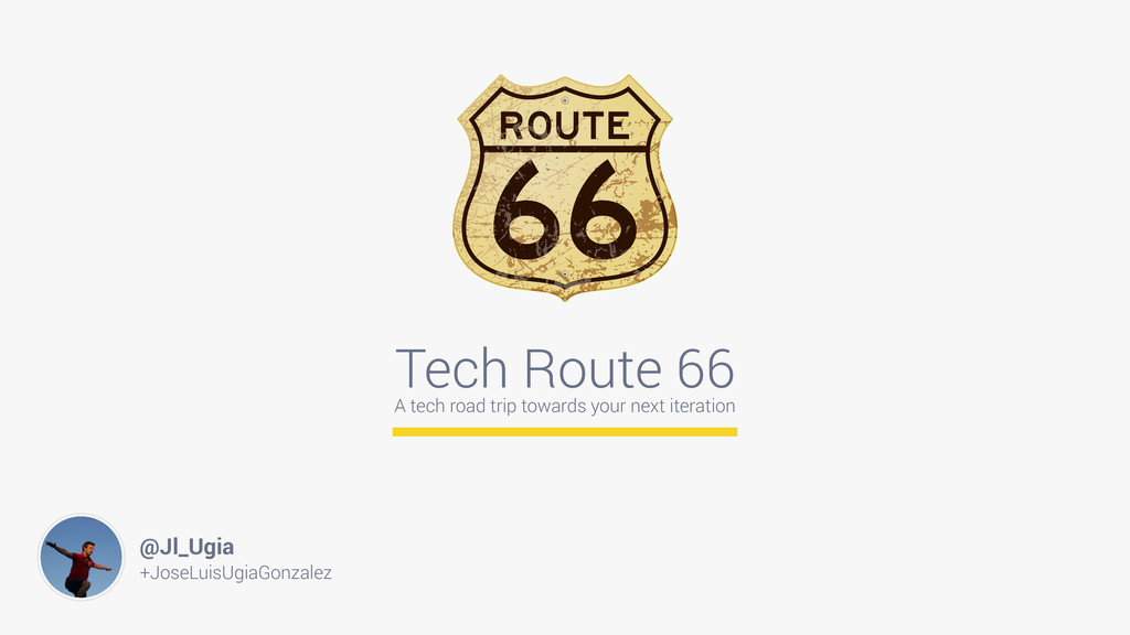 Tech Route 66 A tech road trip towards your nex...