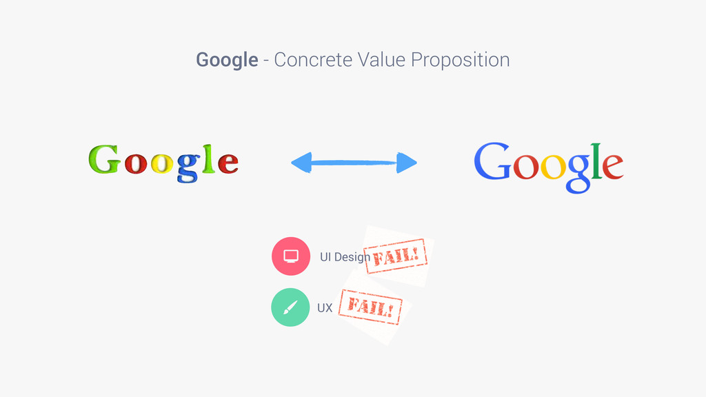 Google - Concrete Value Proposition  UI Design ...