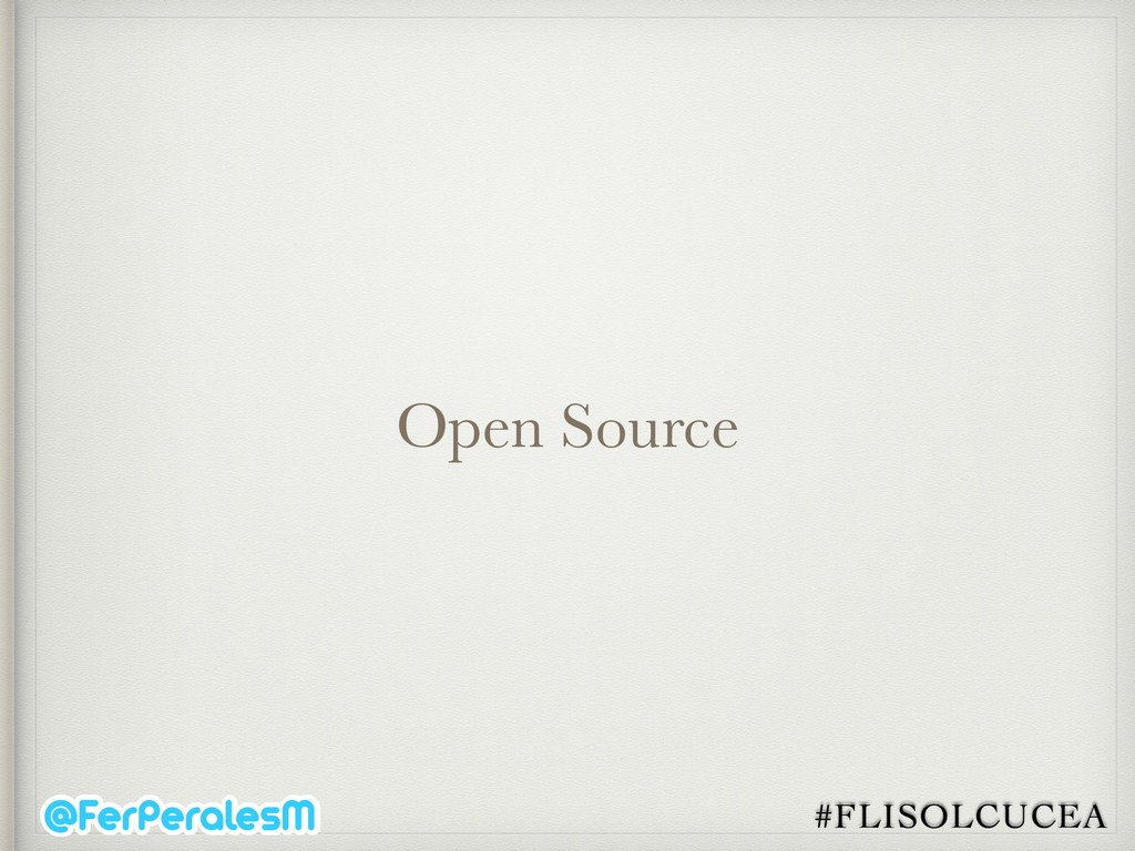 #FLISOLCUCEA Open Source