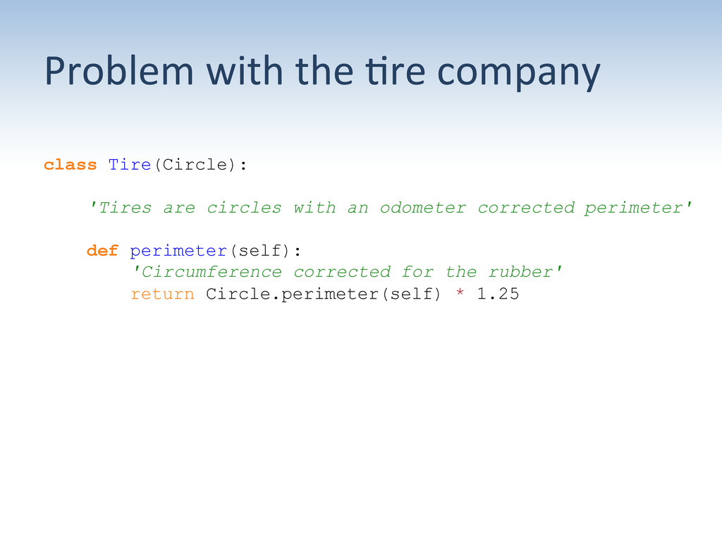 Problem with the ;re company  cl...