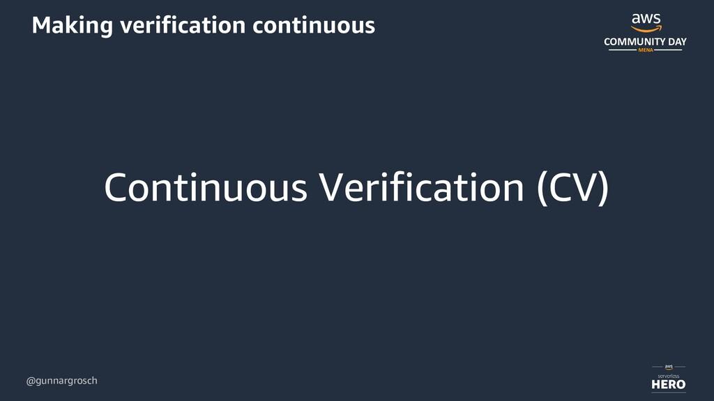 @gunnargrosch COMMUNITY DAY MENA Making verific...