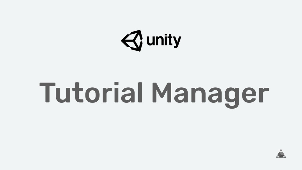 Tutorial Manager