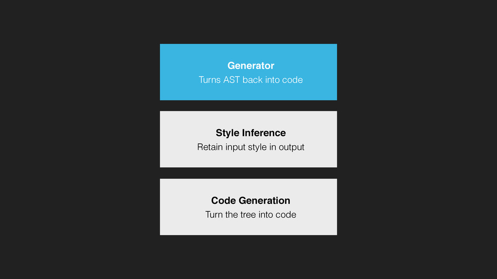 Style Inference Retain input style in output Co...