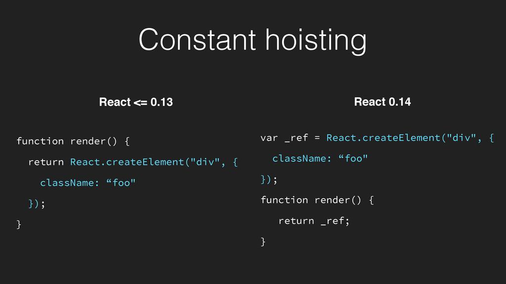 """var _ref = React.createElement(""""div"""", { classNa..."""