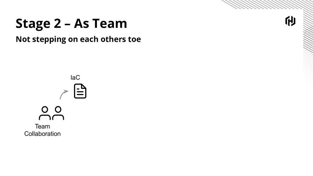 Stage 2 – As Team Not stepping on each others t...