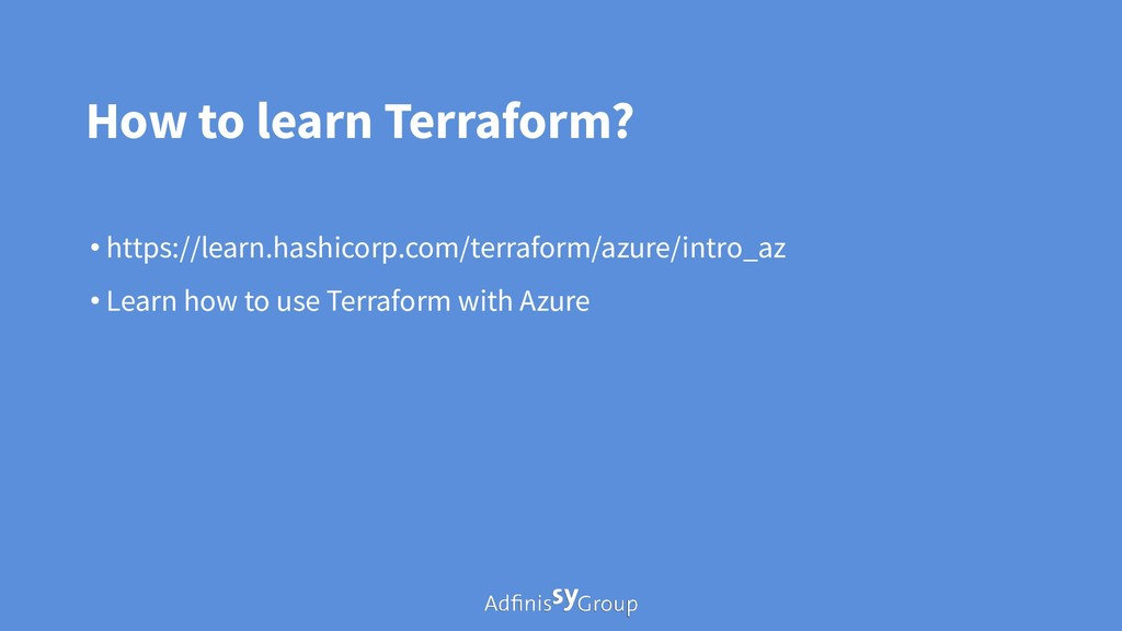 How to learn Terraform? • https://learn.hashico...