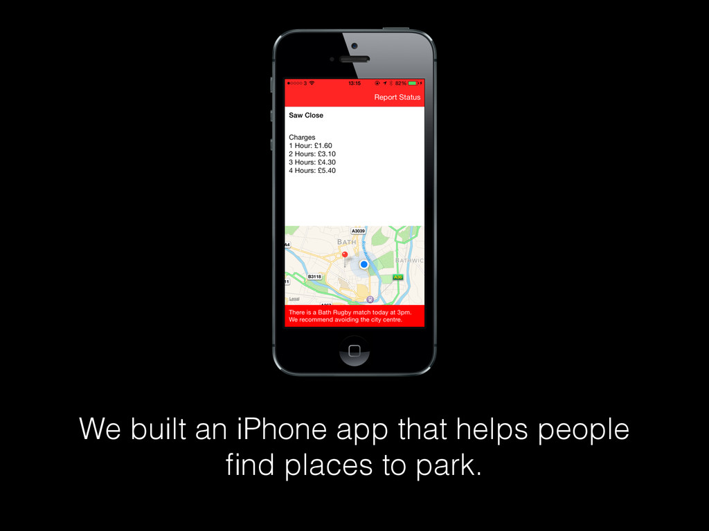 We built an iPhone app that helps people find pl...