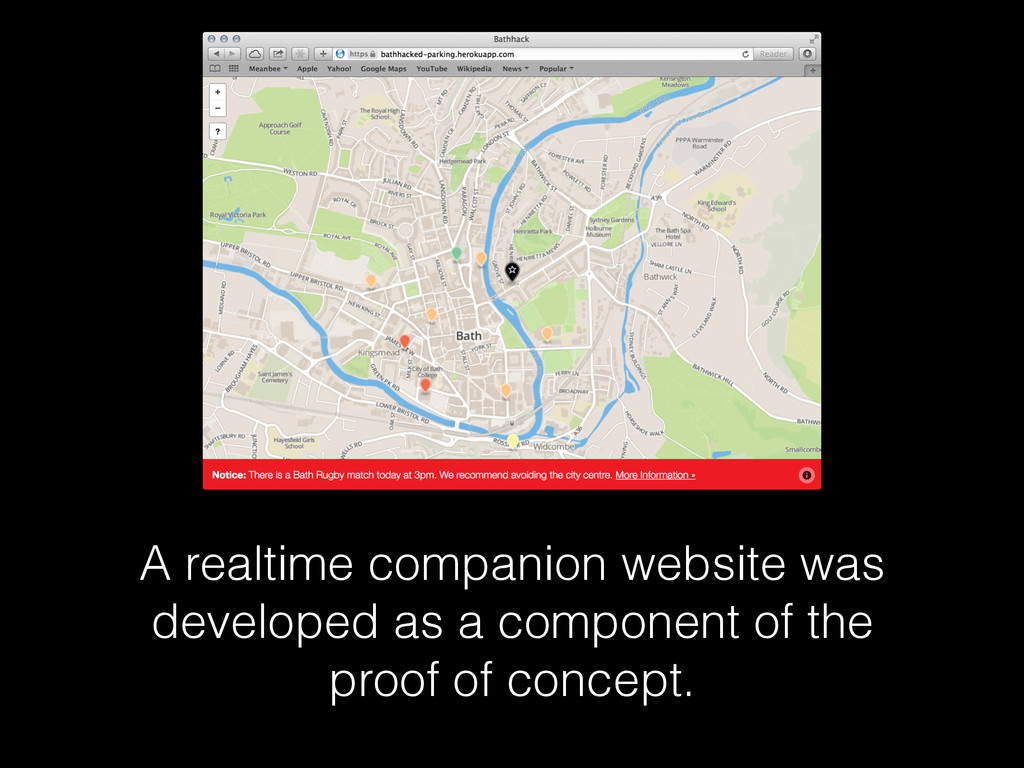 A realtime companion website was developed as a...