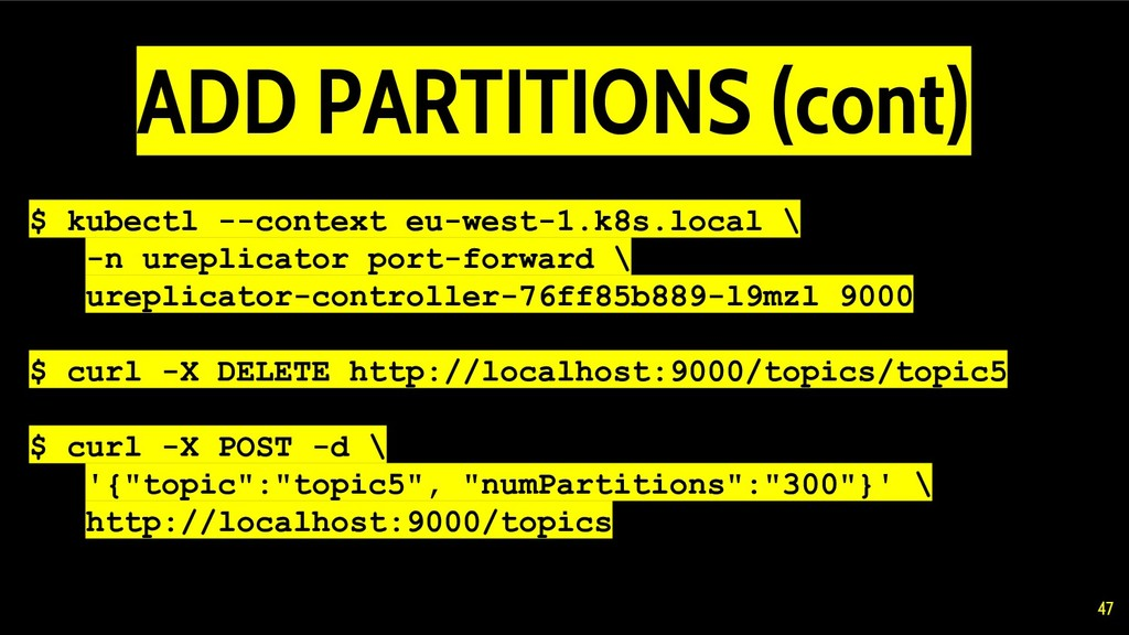 $ kubectl --context eu-west-1.k8s.local \ -n ur...