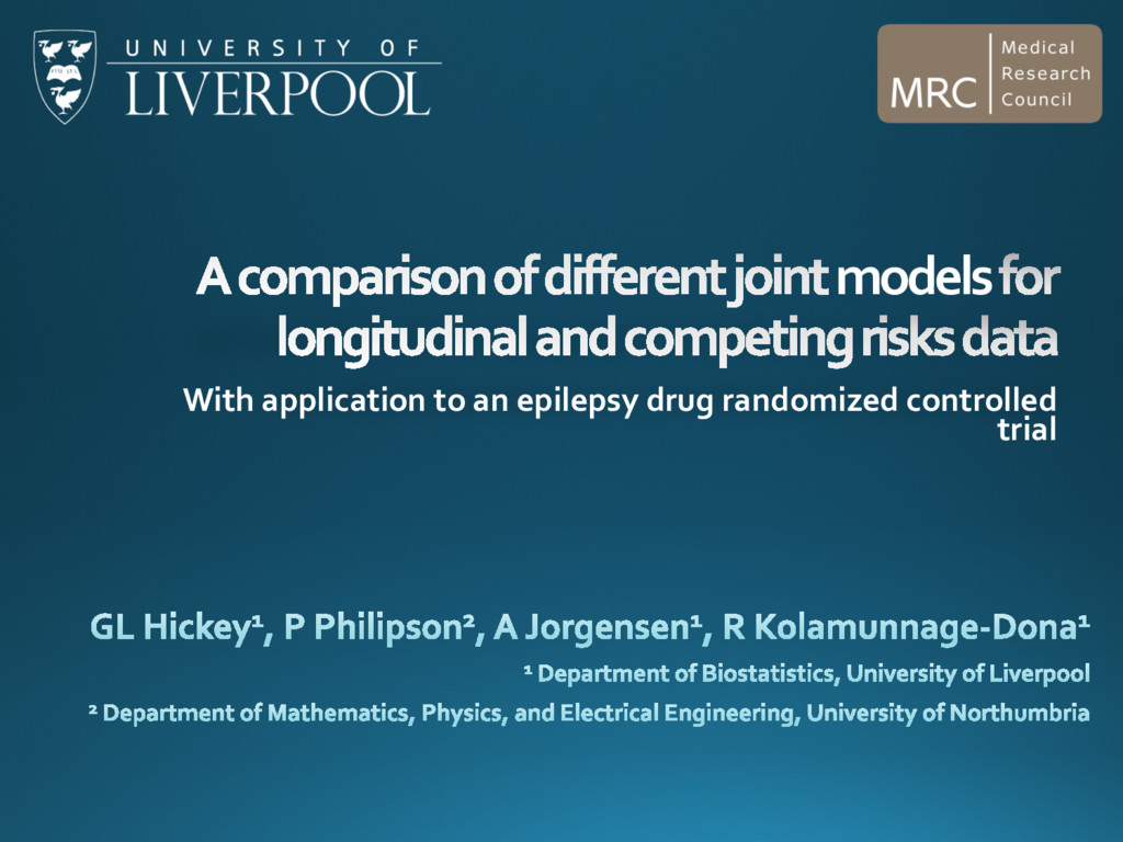 models With application to an epilepsy drug ran...