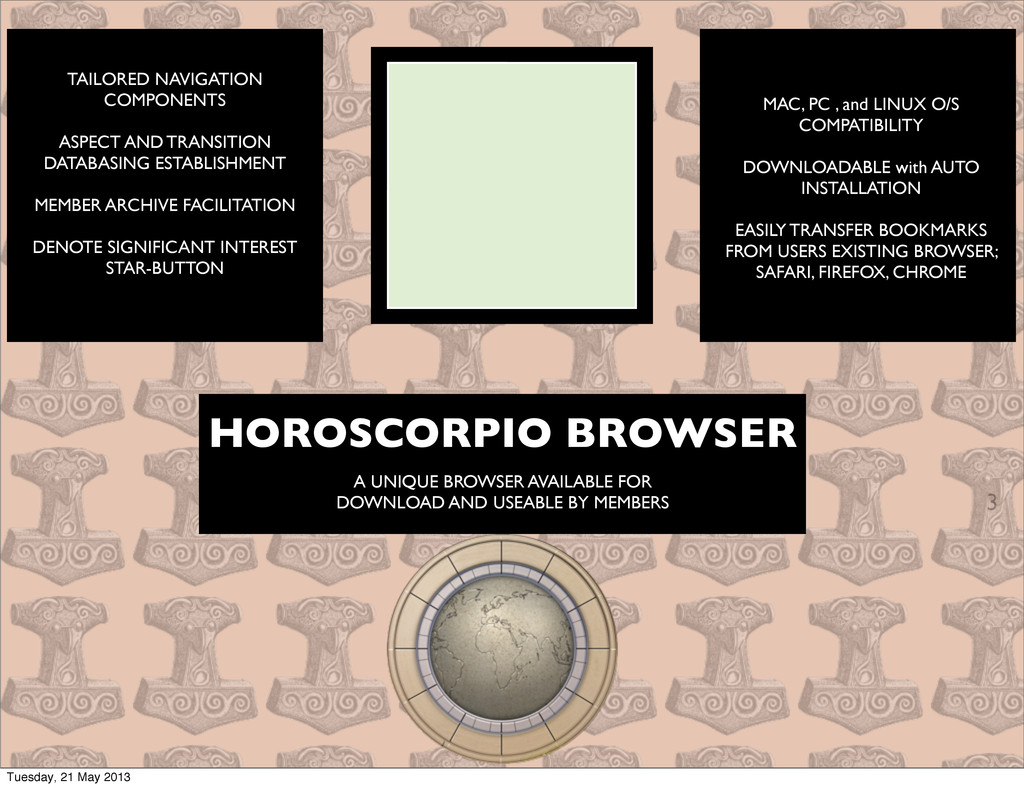 3 HOROSCORPIO BROWSER A UNIQUE BROWSER AVAILABL...