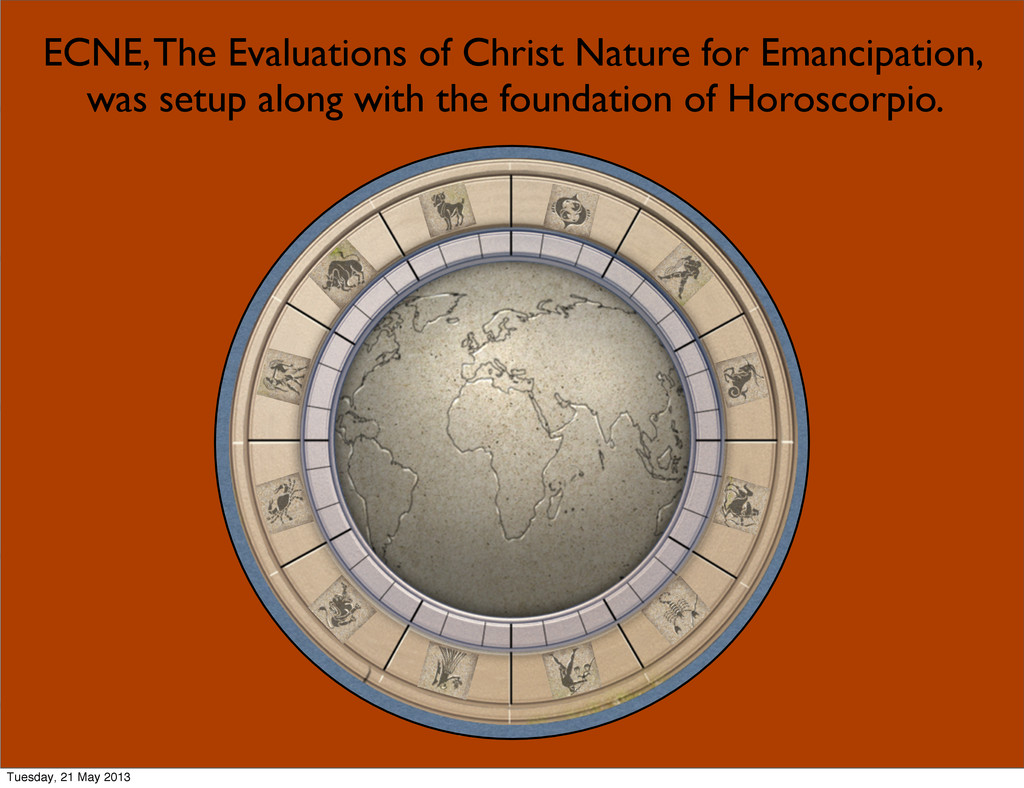 3 ECNE, The Evaluations of Christ Nature for Em...