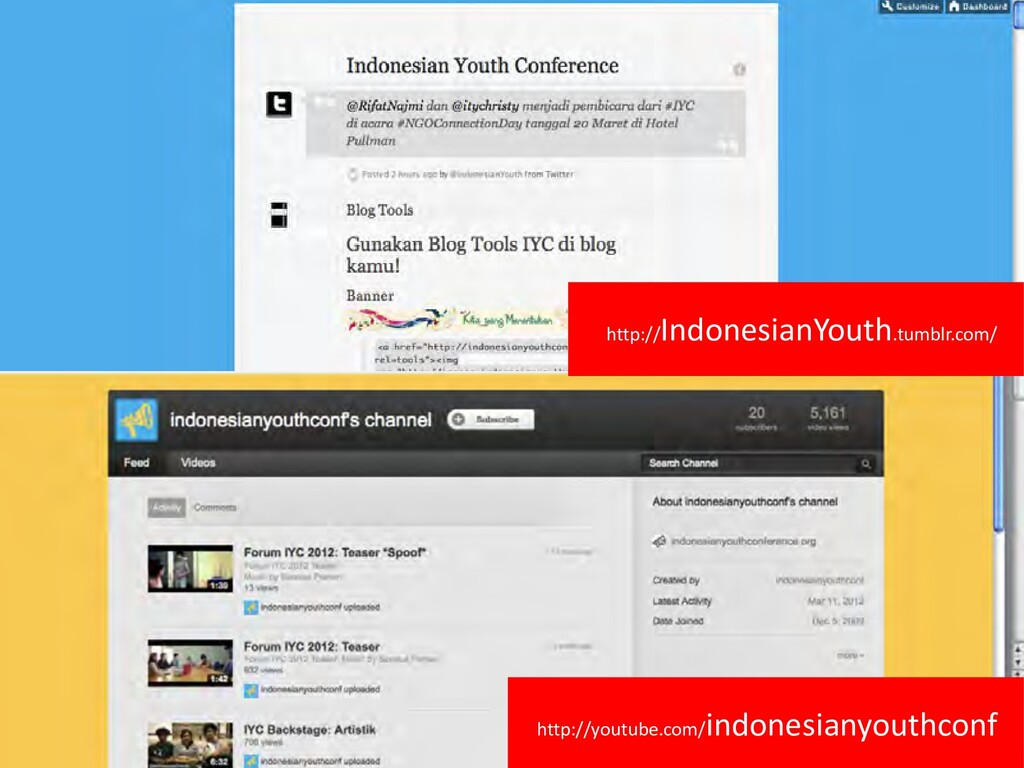 http://youtube.com/ indonesianyouthconf http://...