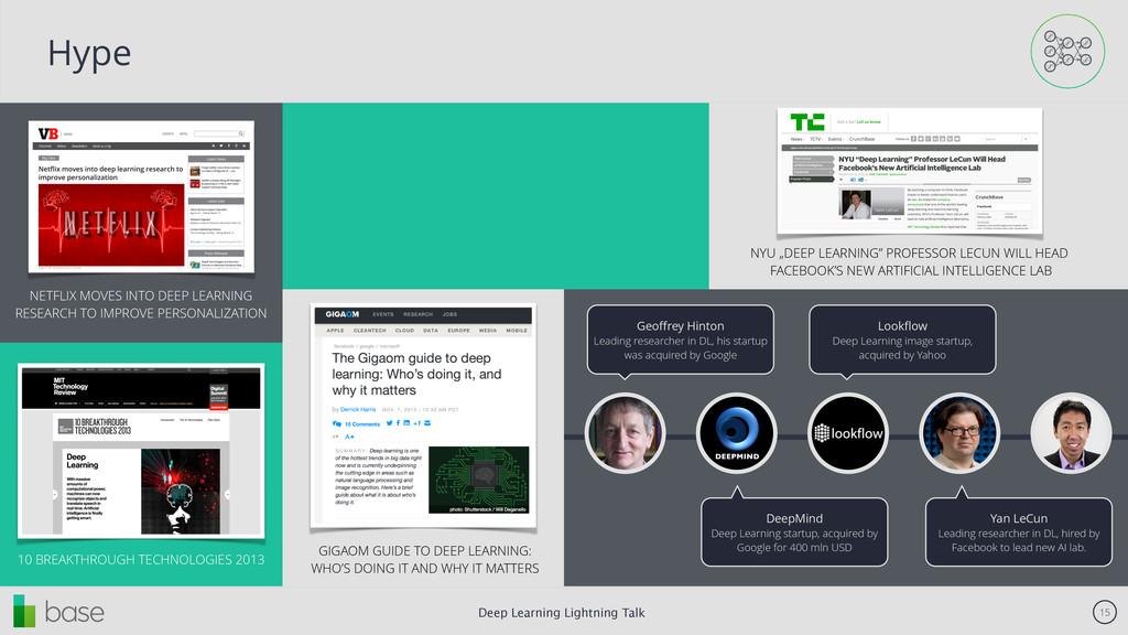 Deep Learning Lightning Talk 15 Hype NETFLIX MO...
