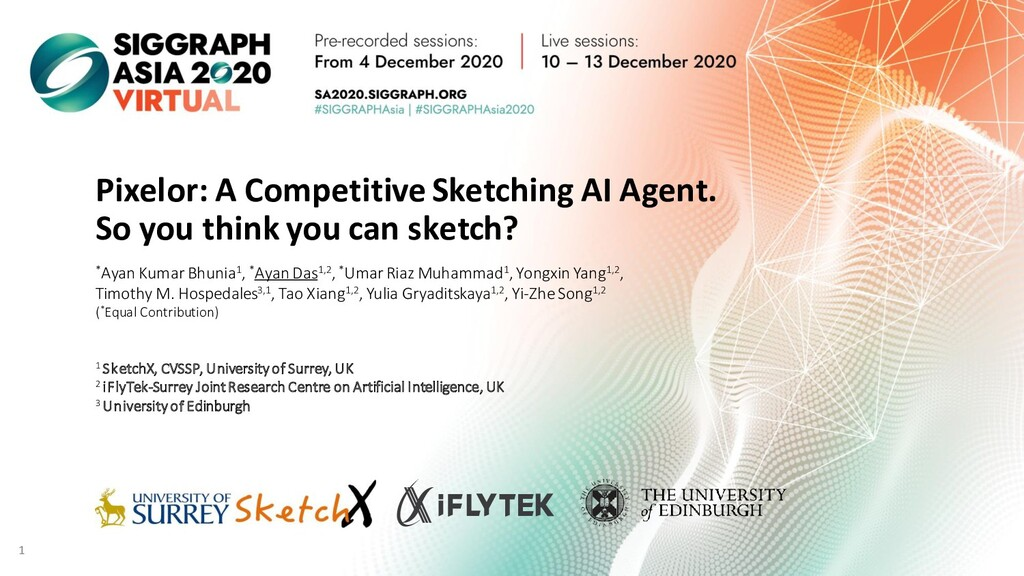 Pixelor: A Competitive Sketching AI Agent. So y...