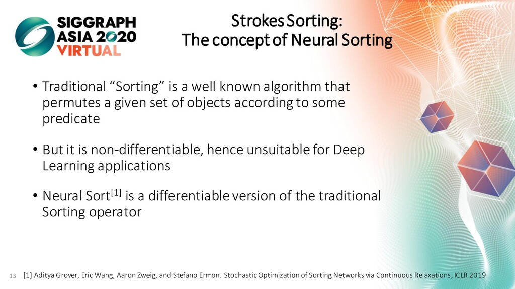 Strokes Sorting: The concept of Neural Sorting ...