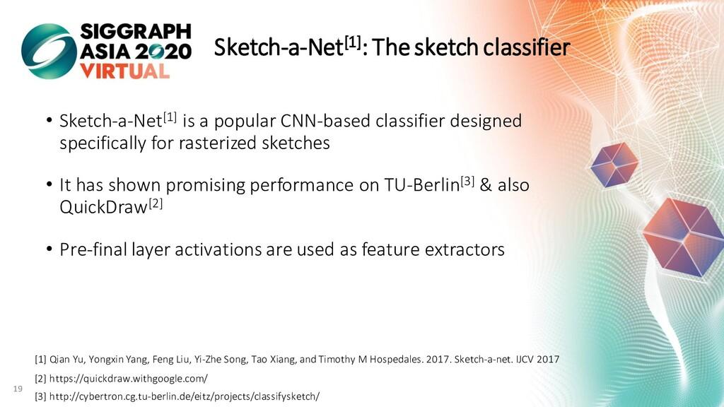 Sketch-a-Net[1]: The sketch classifier • Sketch...