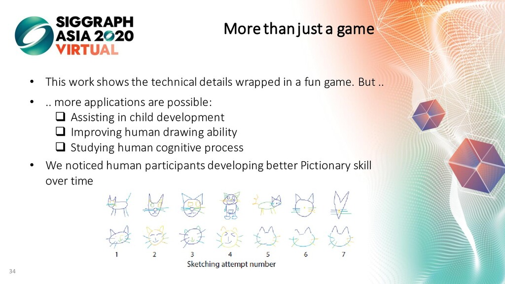 More than just a game • This work shows the tec...