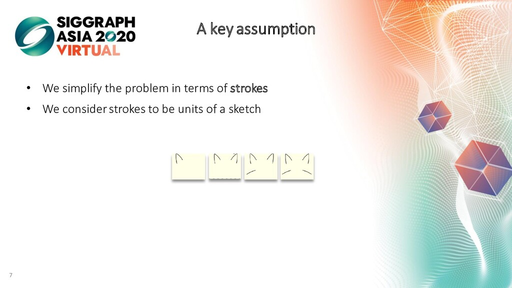 7 A key assumption • We simplify the problem in...