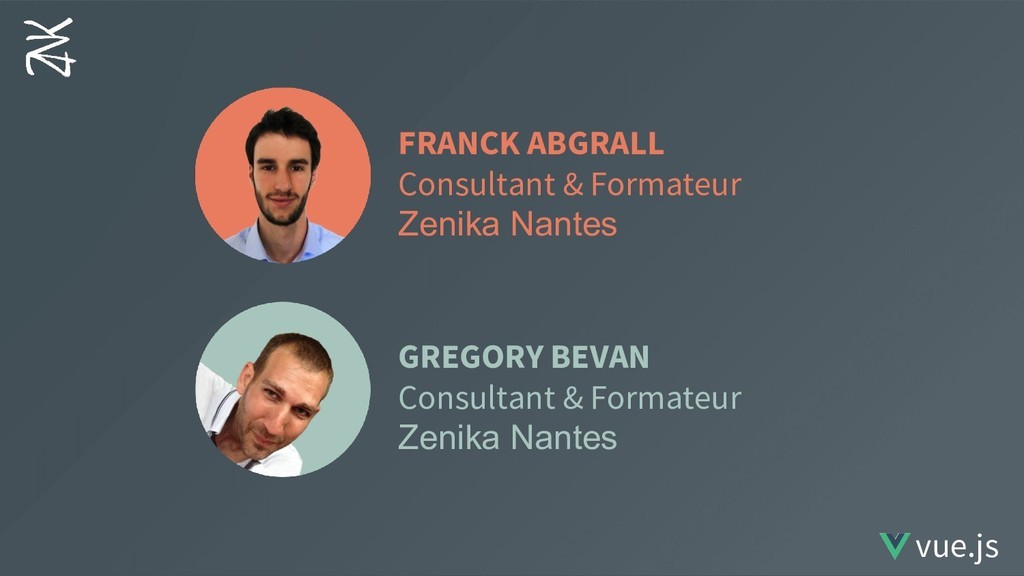 FRANCK ABGRALL Consultant & Formateur Zenika Na...
