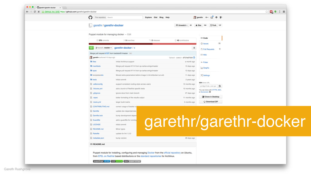 garethr/garethr-docker Gareth Rushgrove